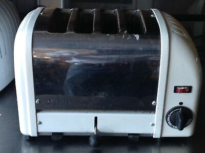 Dualit 4 Slice Toaster. Model D4Bmh. Tested And Working