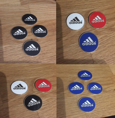 Adidas Magnetic golf ball markers (Sets of 2, 3 & 4)