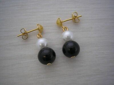 Pearl Drop Earrings for women ladies girls gifts Many colours to choose from E8A