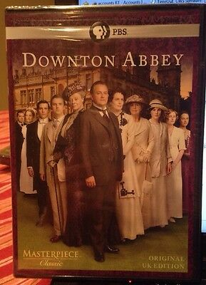 Masterpiece: Downton Abbey Season 1 DVD (U.K. Edition).  Emmy Award Winning NEW