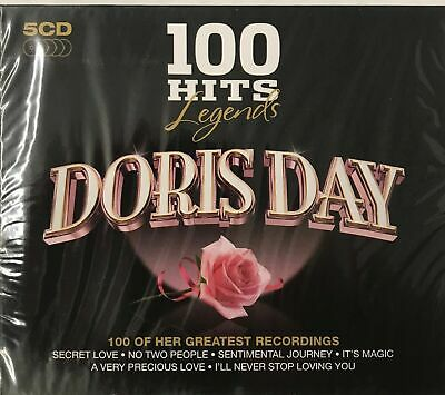 DORIS DAY - 100 HITS - LEGENDS -( 5xCD) - New Sealed