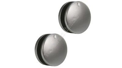 Silver Grey Control Knobs Dials for Howdens Lamona Oven Cooker /& Hob Pack of 4