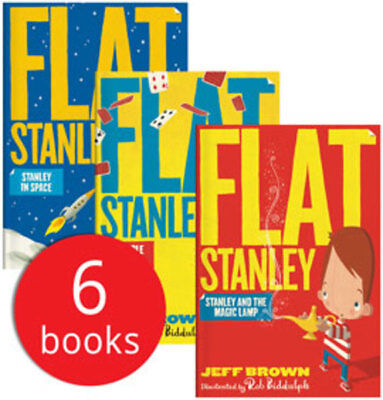 Flat Stanley Collection - 6 Books