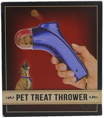 Pet Treat Thrower Dog Food Training Show Launcher Auto Spring Loaded Catapult BL