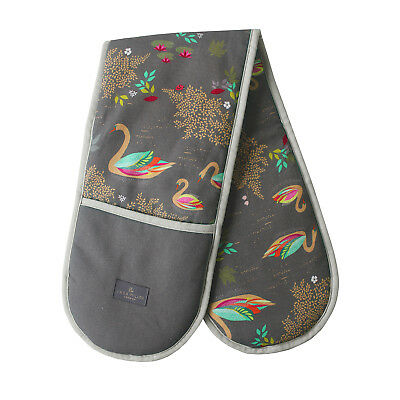 Sara Miller - Swan Double Oven Glove in Presentation Gift Box