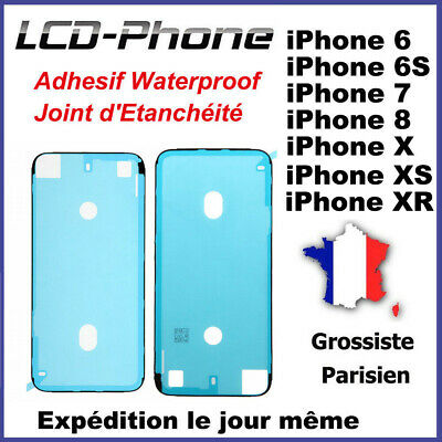 Adhesif Waterproof Joint d'Etanchéité Ecran iPhone 6S, 7, 8, X, Plus