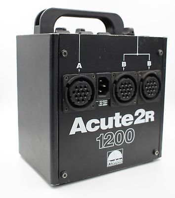 Used Profoto Acute 2R 1200 Power Pack And Strobe
