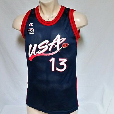 146bfd2f95c7a VTG Shaquille O Neal USA Olympics Champion Dream Team NBA Basketball Jersey  40