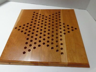 World Wide Games Maple Wood Chinese Checkers Game Colchester CT