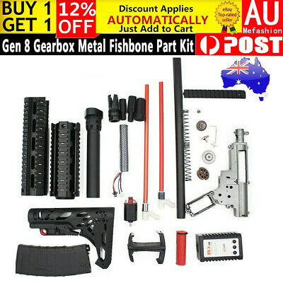 Toy Upgrade Gearbox Metal Parts JinMing M4a1 Accessories Gel Ball Blaster 7-8mm