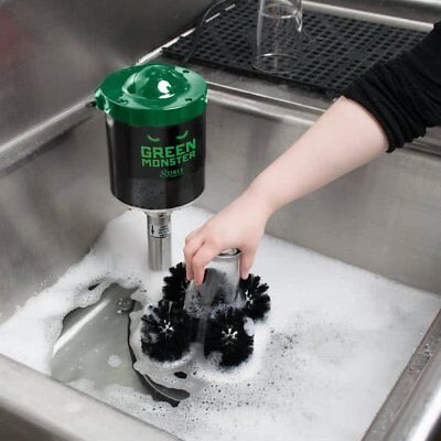 Green Monster Upright Electric Restaurant Bar Glass Cup Commercial Dish Washer