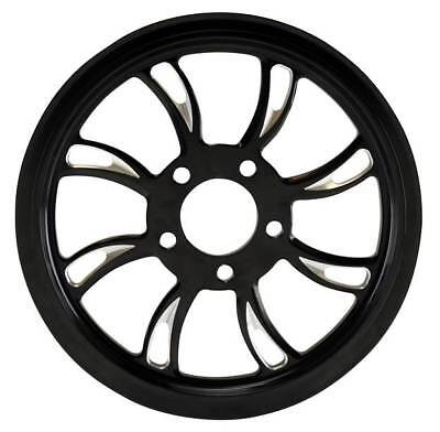 """Ultima Black Cut Vortex Pulley 1-1/8"""" Wide, 70 Tooth 99'- Earlier & 00'- Later"""