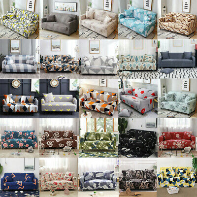 4 Seat Universal Elastic Stretch Sofa Protector Cover Soft Slipcover Couch Cover