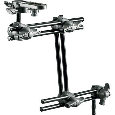 Manfrotto 396B-3 3-Section Double Articulated Arm + Camera Bracket