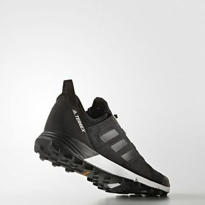 MENS ADIDAS TERREX Agravic Speed Trail Running Black Size 10.5 Shoes BB1955