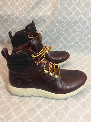 417e0801a61 NEW MEN TIMBERLAND Flyroam Redwood Leather Limited Edition Boots A1Lqa Size  8