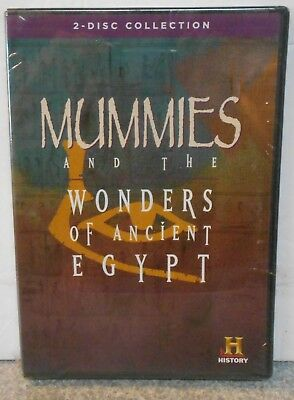 Mummies and the Wonders of Ancient Egypt (DVD, 2001, 2-Disc Set) RARE BRAND NEW
