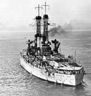 USS Texas (BB-35), 1919,  Old Photo Reproduction
