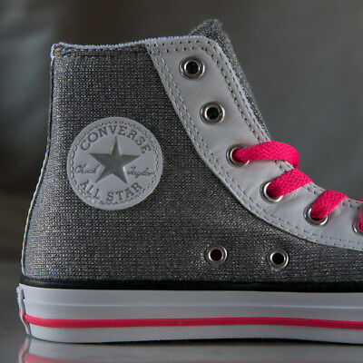 530f24489370 CONVERSE GIRL S CTAS Berry Pink Cyan Side Zip High-Top Sneakers-Size ...