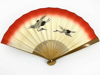"Small Vintage Japanese ""Sadou"" Tea Ceremony 'Sensu' Folding Fan: Oct18A"