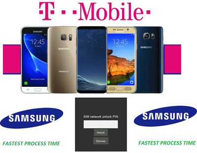 T-Mobile Unlock Code For All Samsung Models - No App - Must Read Description