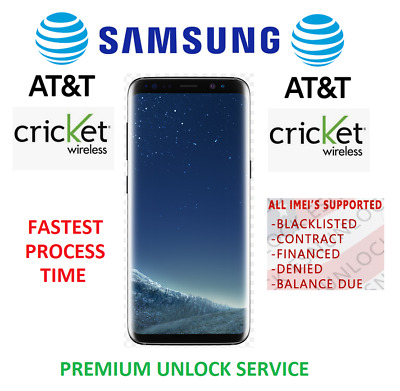 AT&T Premium Service Unlock Code Available for All Samsung Models / Series