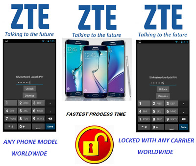 Zte Unlock Code For All Phone Models Locked To Any Carrier Worldwide