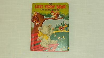 Vintage 1942 Rand McNally & Co. The Lost Teddy Bear And Other Stories Book