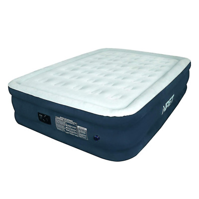 Air Mattress Built-in Rechargeable Battery Pump, AM001 Portable Ultimate Fabric