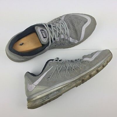 sports shoes eeff1 5f89d Nike Air Max 2015 Reflect 3M Silver 709013-001 Running Sneakers Men s Size  US 15