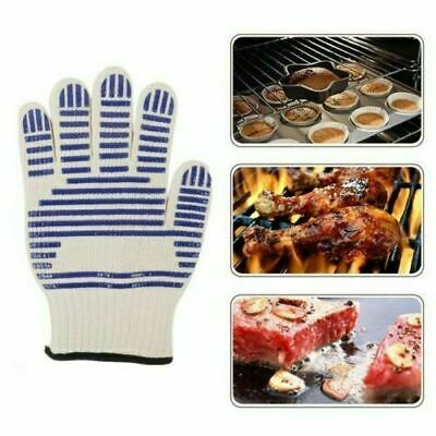Heat Proof Resistant Cooking Kitchen Oven Mitt Glove 540°F Hot Surface Handler