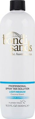 Bondi Sands Light/Medium Professional Spray Tan Solution 1 Litre