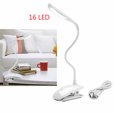 Clip-On Book Light Adjustable Warm White Diffused Reading Lamp EBBARED US STOCK