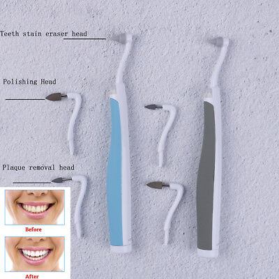 SonicLED dental tooth stain eraser teethpolisher whitenerstainplaque removerATAU