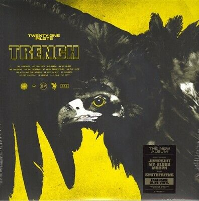 Twenty One Pilots Trench OLIVE vinyl 2 LP +download g/f sleeve NEW/SEALED
