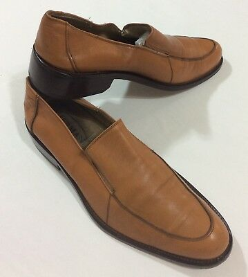 f70582d288c Mens all leather made in Italy dress shoes Loafers Slip Ons Size EUR 43 US  11