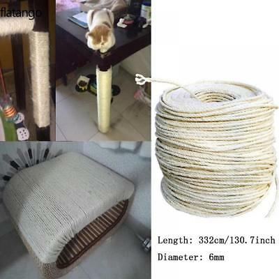 Natural Sisal Rope Coils, Cats, Garden, Decking, Pets, Cat Scratching Post Game