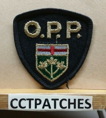 Ontario Provincial, Canada Police Opp (Small) Shoulder Patch