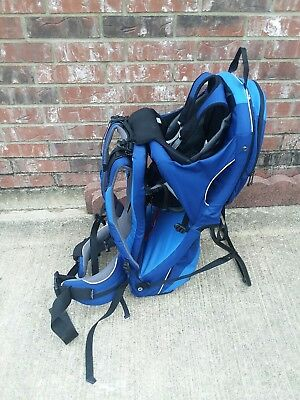 ce6538a35ee Kelty Kids Aluminum Frame Hiking Backpack Child Carrier FC 2.0 Blue