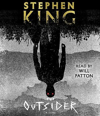 The Outsider: A Novel by Stephen King Horror 2018 Audio CD – Audiobook NEW
