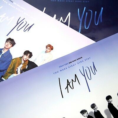 [Stray Kids FOLDED Posters]I am YOU Official POSTER:A/B/C/A+B+C
