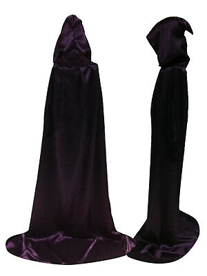Forallable Cloak with Hood Costume Hooded Cape Cosplay Role Play (60-170cm)