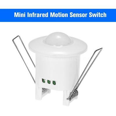 Mini Infrared Motion Sensor Switch 360 Degree PIR Detection AC110V-240V S5R6