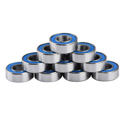 10pcs 5116 5x11x4mm Replacement Precision Ball Bearings MR115-2RS For Traxxas SP