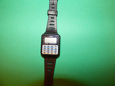 Vintage Nikko Calculator Alarm Watch Made In Japan New Old Stock Not Working