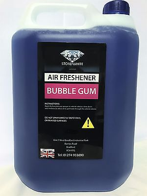 Bubblegum Spray Car Air Freshener Interior Freshner Bubble Gum 5 L Stonewhite