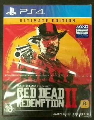 Red Dead Redemption 2. Ultimate Edition (PS4, 2018) English,Russian