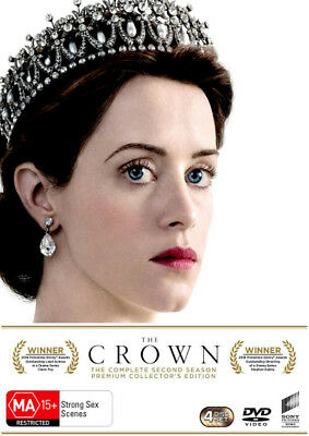 The Crown: Season 2 (Premium Collector's Edition)  - DVD - NEW Region 2, 4