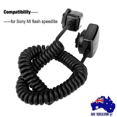 TTL Off Camera Hot Shoe Flash Sync Cable Cord For Sony MI Mirrorless Cameras New