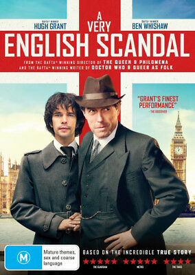 A Very English Scandal  - DVD - NEW Region 4, 2